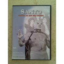 Lucha Libre / Dvd / Santo Contra El Rey Del Crimen / 1962