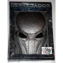 Boxset Depredador Trilogía En Blu-ray + Mascara, Nuevo!!