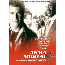 Dvd Arma Mortal 4 ( Lethal Weapon 4 ) 1998 - Donner / Gibson