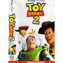 Tlax Vhs Pelicula Infantil Toy Story 2 De Walt Disney Pixar