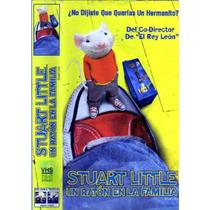 Tlax Vhs Pelicula Infantil Stuart Little Un Ratón En Familia