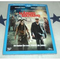 El Llanero Solitario - The Lone Ranger - Bluray + Dvd C/slip