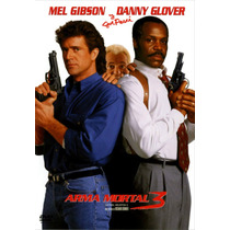 Dvd Arma Mortal 3 ( Lethal Weapon 3 ) 1992 - Donner / Gibson