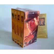 Peliculas Vhs Trilogia Indiana Jones + 1 Pelicula
