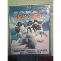 Blu Ray Happy Feet Anime Manga Animación Pinguino