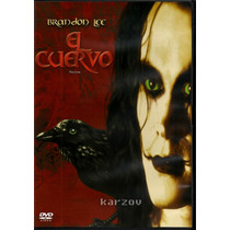 El Cuervo, The Crow, Brandon Lee, Cine Culto Comics, Dvd