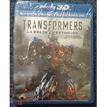 Blu-ray 3d Transformers Age Of Extinction Bluray Extincion
