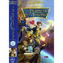 Vhs El Planeta Del Tesoro De Walt Disney