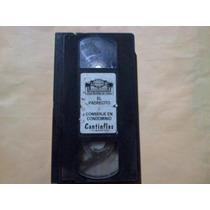 Video Casette De Cantinflas Antiguo