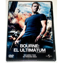Dvd Bourne El Ultimatum (2007) Matt Damon!! Mmu