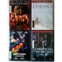 Dvd Cd, Valentine, Exorcismo, Batman, Profecia, Alizze