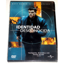 Dvd Identidad Desconocida / The Bourne Identity (2002) Mmu