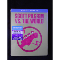 Scott Pilgrim Vs. The World Bluray Steelbook Limited Edition