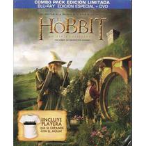 El Hobbit Un Viaje Inesperado. Combo Blu-ray + Dvd + Playera