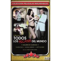 Dvd Mexicano Mauricio Garces Todos Los Pecados Del Mundo