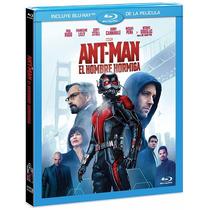 Ant-man El Hombre Hormiga Marvel , Pelicula En Blu-ray