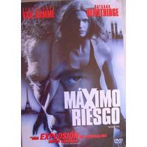 Maximo Riesgo / Jean Claude Van Damme / Dvd Usado