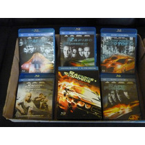 Rapido Y Furioso Blu Ray Set Box