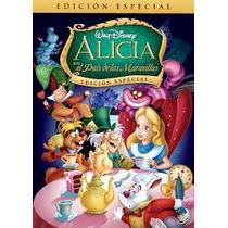 Alicia En El Pais De Las Maravillas En Disney Dvd