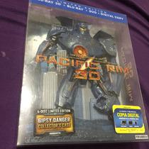 Pacific Rim Titanes Del Pacifico 3d/bluray/dvd Jager Case