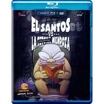 El Santos Vs La Voluptuosa Mendoza Pelicula Blu-ray + Dvd
