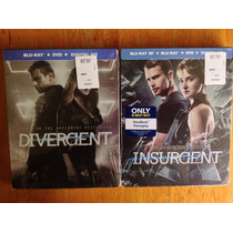 Divergent + Isurgent Blu Ray Steelbook Best Buy Exclusivos