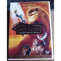 El Rey Leon Edicion Especial 2 Dvds 1a Ed 1994 Arte Orig Maa