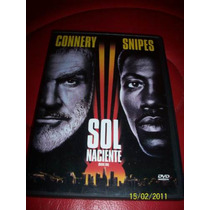 Rising Sun Sol Naciente Sean Connery Wesley Snipes Dvd 1993