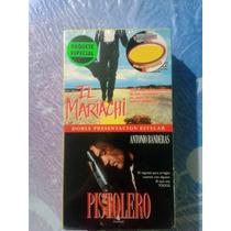 Nuevo Paquete Peliculas Vhs Pistolero Y El Mariachi