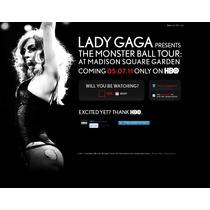 Lady Gaga The Monster Ball Tour Hbo 2 Dvd + 2 Lp