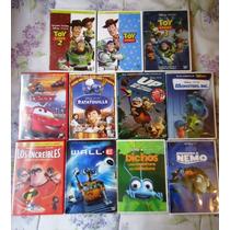 Coleccion Peliculas De Pixar En Formato Dvd, Oferta!