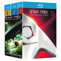 Star Trek Las 3 Temporadas Completas 20 Discos Blu-ray