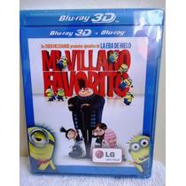 Mi Villano Favorito, Pelicula En Formato Blu-ray 3d