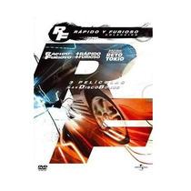 La Coleccion Rapido Y Furioso, La Trilogia Peliculas En Dvd