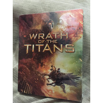 Wrath Of The Titans Furia De Titanes 2 Steelbook Nueva