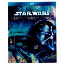 Star Wars Trilogia Episodios 4 5 6 , Peliculas En Blu-ray