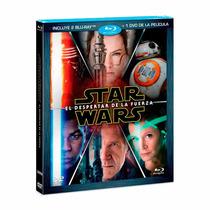 Star Wars El Despertar De La Fuerz Bd+dvd