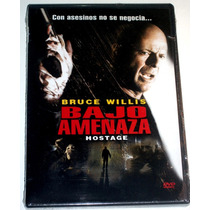Dvd: Bajo Amenaza / Hostage (2005) Bruce Willis!! Au1