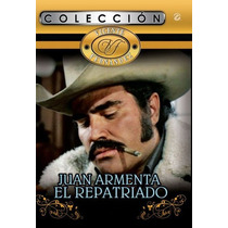 Dvd Cine Mexicano Juan Armenta Con Vicente Fernandez Tampico