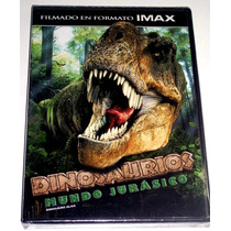Dvd Dinosaurios: Mundo Jurasico Filmado En Formato Imax!!