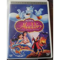 Aladdin Aladino Dvd Doble Made In U.s.a. C/ Su Guia