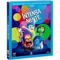 Intensamente Inside Out , Pelicula En Blu-ray + Dvd