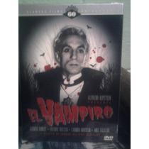 Dvd El Vampiro German Robles Terror Dracula 1a. Edición