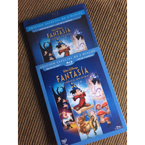 Fantasia Disney Blu-ray Y Dvd Mickey Mouse Nuevo