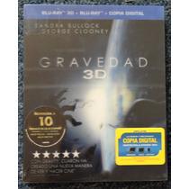 Blu-ray 3d Gravedad Bluray Gravity Bluray+bluray+copia Digit