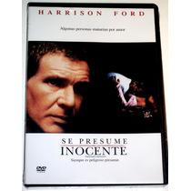 Dvd: Se Presume Inocente (1990) Harrison Ford!! Au1