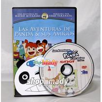Studio Ghibli Las Aventuras De Panda & Sus Amigos Reg. 1 Y 4