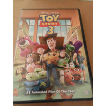Disney Pixar Toy Story 3 Import Dvd Usa Movie Caricatura