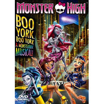 Monster High Boo York (dvd) Nuevo Y Original