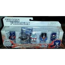 Transformers (30 Aniversario) - 5pc Mini-figure Set (optimus